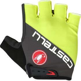 Castelli Adesivo Gloves Men yellow fluo/anthracite